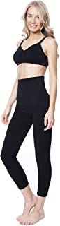 MOTHERS ESSENTIALS Postpartum High Waist Tummy Compression Control Slimming 3/4 Capri Leggings