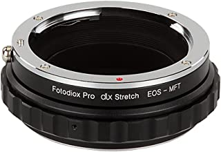 Fotodiox DLX Stretch Lens Mount Adapter Compatible with Canon EOS EF and EF S Lenses on Micro Four Thirds Mount Cameras