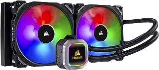 Corsair CW-9060038-WW Hydro Series, H115i RGB Platinum AIO Liquid CPU Cooler,280mm,Dual ML140 PRO RGB PWM Fans,Intel 115x/...