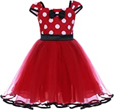 Baby Girl Polka Dot Princess Party Cosplay Fancy Costume Birthday Leotard Ballet Tutu Dress up Vintage Bowknot Dance Gown