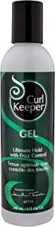 CURLY HAIR SOLUTIONS Curl Keeper Gel - Ultimate Hold Power With Frizz Control To Support All Your Favorite Hairstyles (8 O...