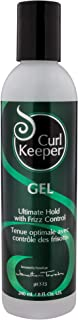 CURLY HAIR SOLUTIONS Curl Keeper Gel - Ultimate Hold Power With Frizz Control To Support All Your Favorite Hairstyles ( 8 Ounce / 240 Milliliter )