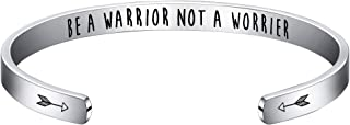 be a warrior not a worrier bracelet