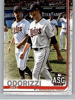 2019 Topps Update Baseball #US36 Jake Odorizzi Minnesota Twins Official