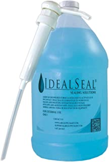 One Gallon of Sealing Solution with Heavy Duty Pump Compare to Pitney Bowes EZ Sealing Solution # 601-1 DM Series Mailing Systems