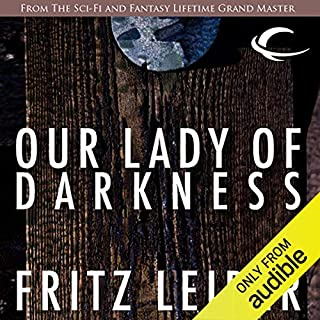 Our Lady of Darkness audiobook cover art