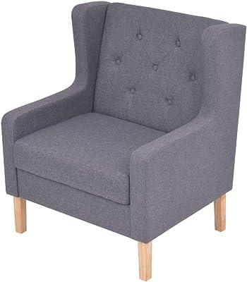 My-Furniture Sillón de salón, tapizado Abotonado, con Anillo ...