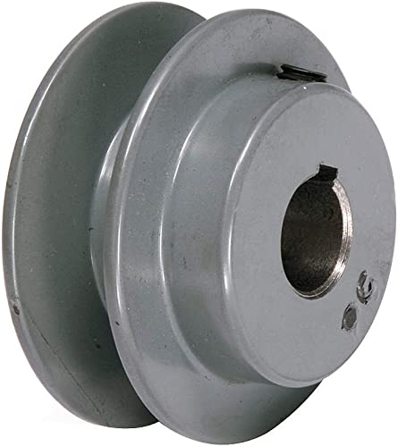 """lowest 1/2"""" Fixed Bore 1 Groove Standard lowest V-Belt Pulley 1.75 high quality in OD online sale"""
