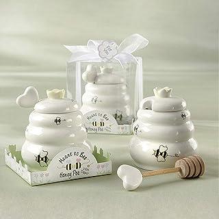 HuaZo Honigtopf für Kinder, aus Keramik, für Bienenkorb, G