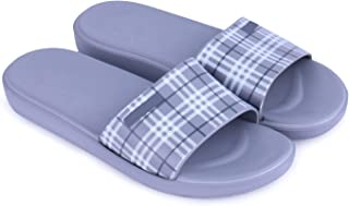 WMK Women's Slippers Indoor House or Outdoor Latest Fashion Grey Flipflop Slipper for Women