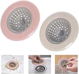 Xiuyer Coperchi Scarico Filtro Silicone 8pcs Silicone Filtro Lavello Cucina Colino Coperchi Bagno Lavandino Colino Lavello per Lavello Cucina Bagno