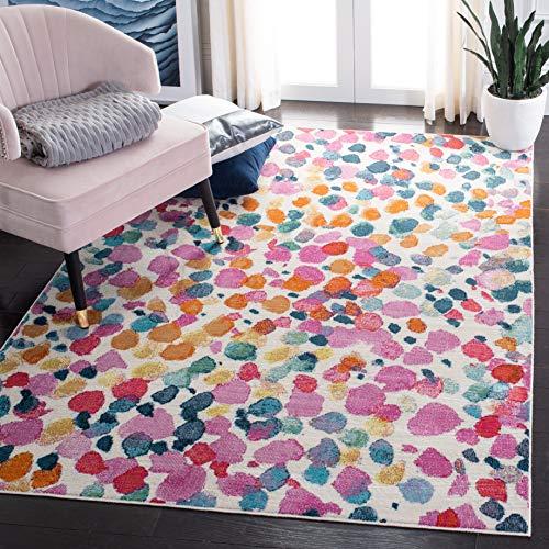 Safavieh Celia Abstrakt Teppich gewebt Polypropylen Teppich in Rose-Gold 120 x 180 cm