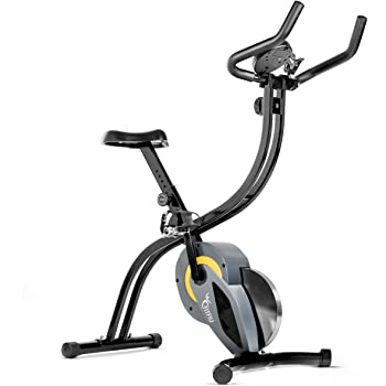 Bicicleta spinning plegable bici estatica regulable con volante inercia 7kg, calas y soporte para movil: Amazon.es: Deportes y aire libre