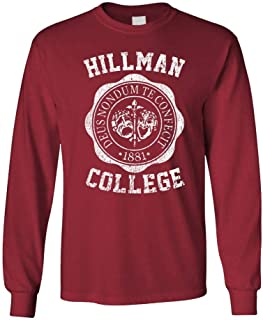 Hillman College - Cotton Long Sleeved Tee