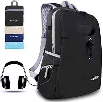 CORTEGE Durable Folding Travel Collapsible Backpack