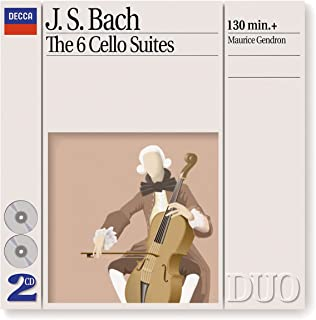 Philips Bach: The 6 Cello Suites (1994), Joyero