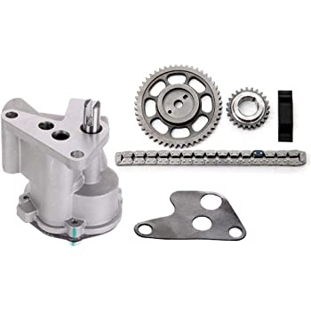 FEIPARTS Timing Chain Kit Oil Pump Compatible for 1994-1998 Jeep Grand Cherokee 1994-1998 Jeep Cherokee 1994-1995 1997-1998 Jeep Wrangler