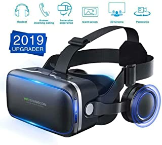 $26 » RONSHIN 3D Glasses Virtual Reality Headset VR Box Goggles for Android iPhone Samsung Electronic Accessories