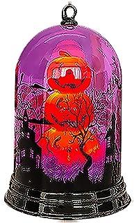 Skyeye Halloween Citrouille Lanterne Lampe De Sorcière LED Veilleuse Halloween Accessoires De Décoration De Lieu Enfant Ha...