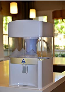 AQUASPREE Exclusive 7 Stage Alkaline Water Filter. Premium Quality 5 Gallon Countertop Water Purification System. Transform Regular Tap Water to Safe Delicious Alkaline Mineral Drinking Water