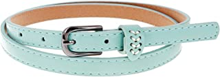 Damara Womens Daily Single Pin Casual Durable Skinny Dress Belt
