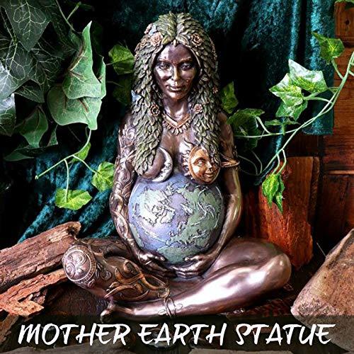 MEIJING GHIA - Estatua de la madre tierra para jardín, decoración de casa, jardín, estatua decorativa de la madre tierra, regalo para el día de la madre