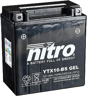 Batteria 12 V 12 AH YTX14-BS Gel Nitro 51214 XB9SX Lightning City X 05-09