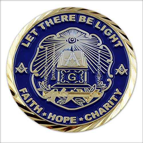 Band of Brothers Let There Be Light Masonic Coin
