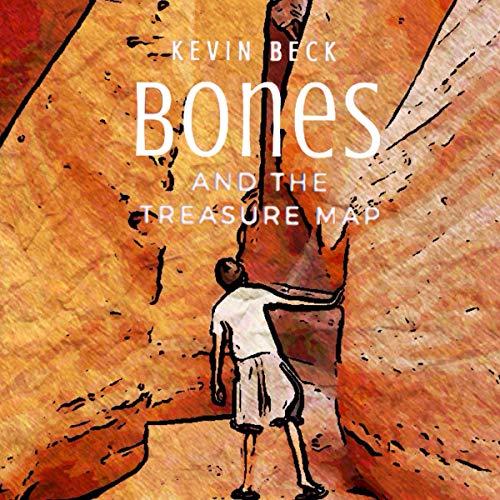 Bones and the Treasure Map audiobook cover art