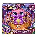 FurReal Moodwings Baby Dragón de Juguete Interactivo, 50 Sonidos y reacciones a Partir de 4 años