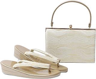 草履バッグセット 礼装用 レディース 西陣 フォーマル 2点セット フリーサイズ ぞうり 草履 鞄 かばん 女性 着物