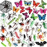 OOTSR 51Pcs Plastic Insects Bugs Toys...