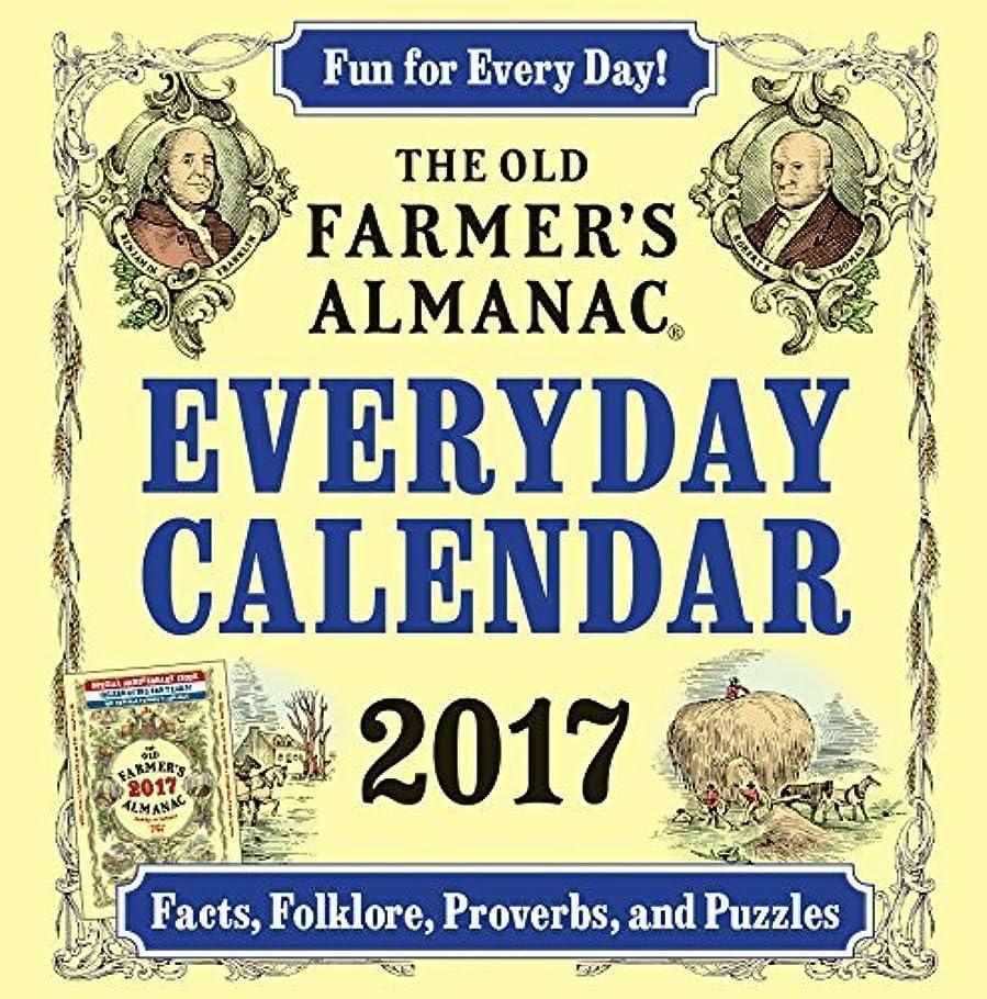 城面積中世のThe Old Farmer's Almanac 2017 Everyday Calendar by Old Farmer's Almanac(2016-07-26)