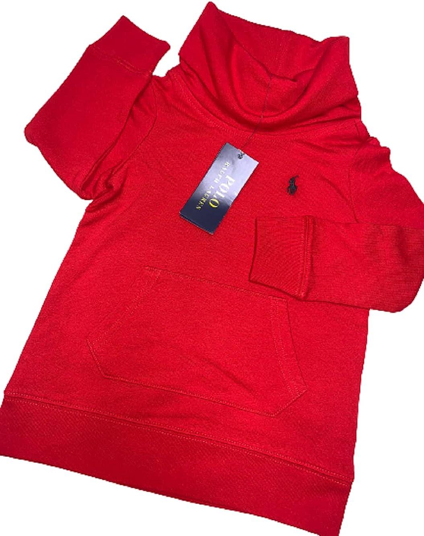 Polo Ralph Lauren RED Boys Turtleneck Sweater, US 6X
