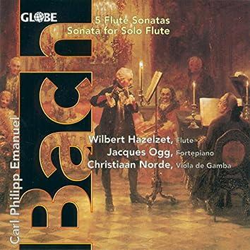 C.P.E. Bach: Flute Sonatas