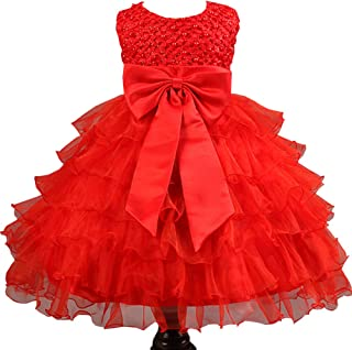 Best baby frock red colour Reviews