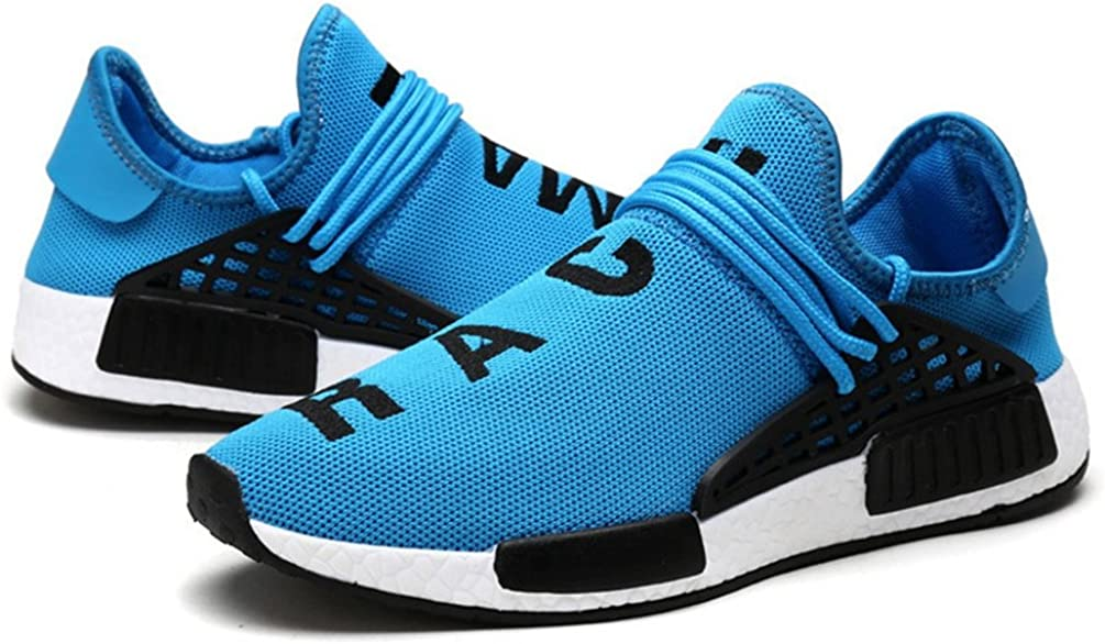 Qianliuk Men Outdoor Trainers Lightweight Breathable Tenis Breathable Casual Shoes Blue