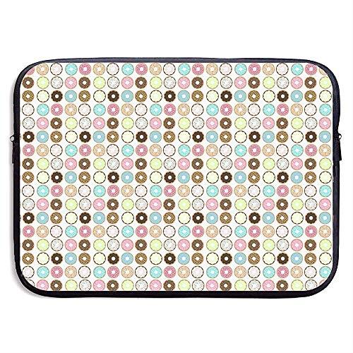 Beautiful Flower Cake Laptop Sleeve- Stylish Cute Neoprene Notebook Handbag 33cm*25.5cm*3.5cm