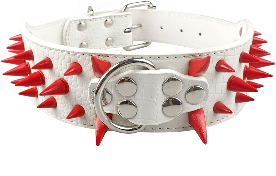 MCPPP Big Dog Collar Spiked Studded New Orleans Superlatite Mall Shepher German Bull Pit for