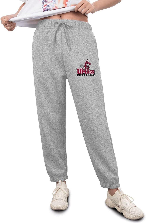Pants Womens Direct stock discount Ranking TOP2 University of Logo Massachusetts-Amherst Fashion At