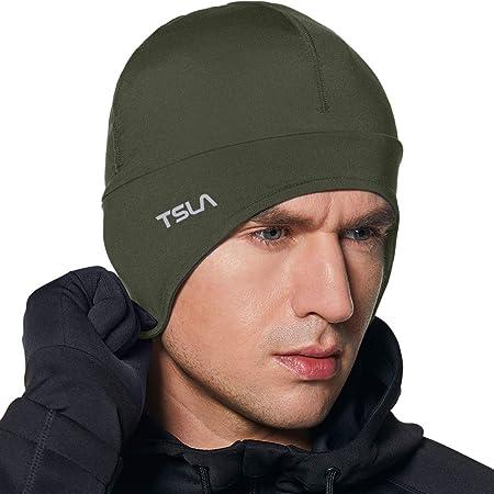 (テスラ)TESLA ヘルメット バイク インナーキャップ ランニング スポーツ 帽子 キャップ ビーニー スカルキャップ [吸汗速乾・通気性・消臭] 男女兼用