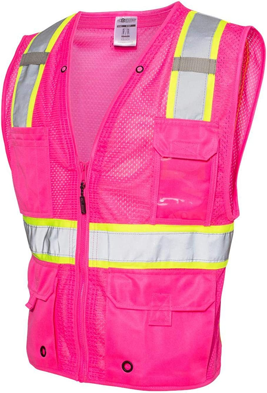 New mail order ML Kishigo Miami Mall - Mesh Enhanced Visibility Multi-Pocket Vest B100-1