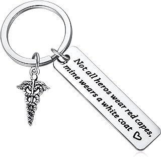 Gift Idea for Dentist, Dental, Pharmacist, Medical, Hygienist, Doctor, Physician, Nurse, White Coat Ceremony PA Key Chain ...