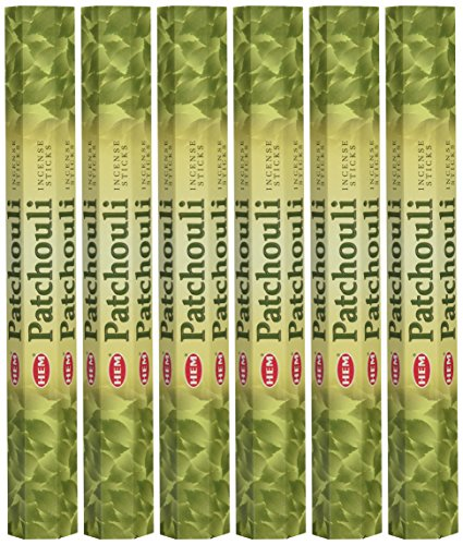 Patchouli - Box of Six 20 Gram Tubes - HEM Incense