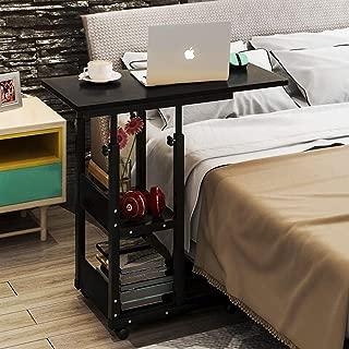 Utilisation /à lh/ôpital et /à Domicile Jolly Table de Chevet sur lit de inclinable Medical Deluxe avec Fonction de r/églage de la Hauteur par Simple Pression Couleur : Blanc