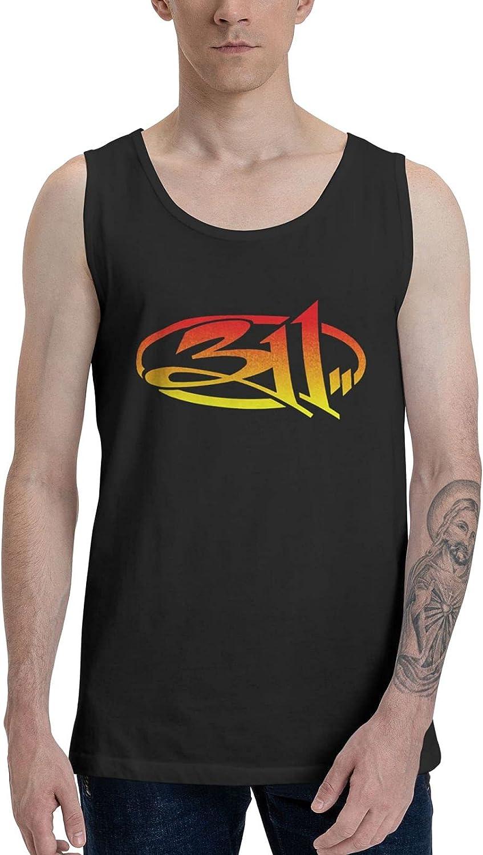 311 Band Tank Top Man's Summer Sleeveless Tee Novelty Vest