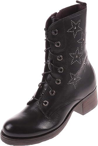 Brako - botas de Piel Lisa para mujer negro negro 41 1 3 EU