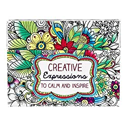 creative expressions coloring postcards