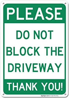 Best private driveway signs Reviews