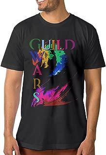 Noral Video Game GW2 Men's Crewneck T Shirt Black